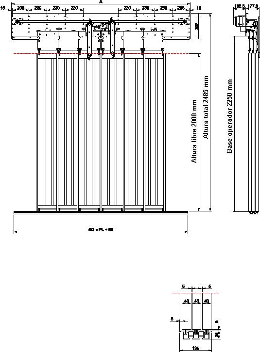 Mechanical And Electrical Components For Vertical Installations